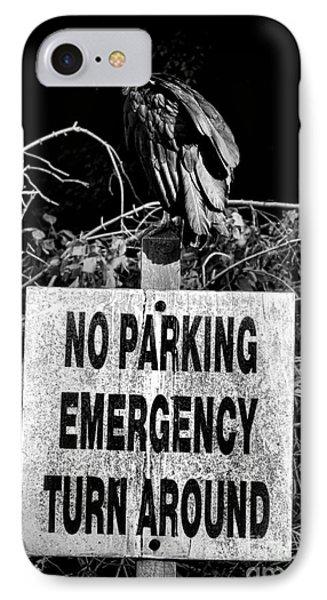 Parking Enforcement IPhone Case by Olivier Le Queinec