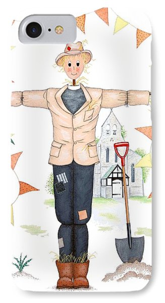 Parson Scarecrow IPhone Case by Sandra Moore