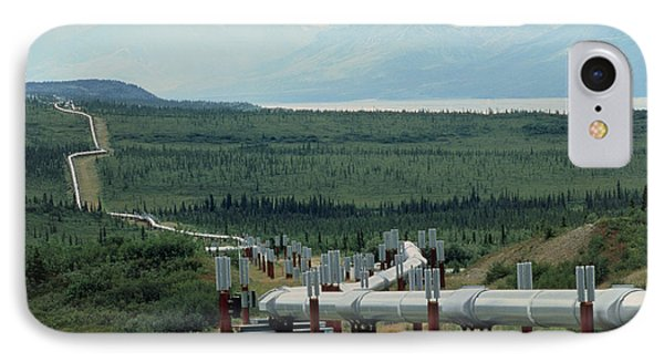 Part Of The Trans-alaskan Oil Pipeline IPhone Case by Pekka Parviainen
