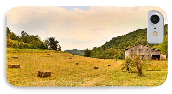 Pastorial Framland In Kentucky IPhone Case by Douglas Barnett