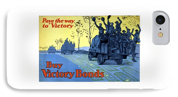 Pave The Way To Victory IPhone Case by War Is Hell Store