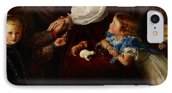 Peace Concluded IPhone Case by Sir John Everett Millais
