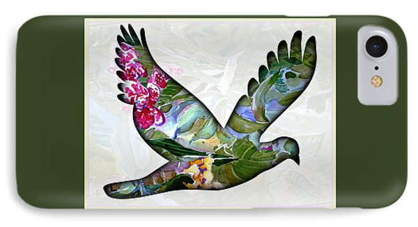 Peace For Peace IPhone Case by Mindy Newman