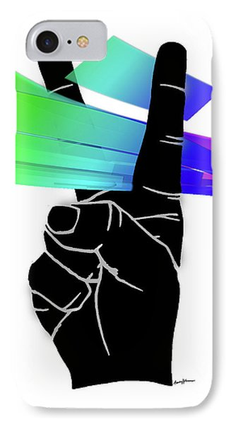 Peace Ribbons Phone Case by Anthony Caruso