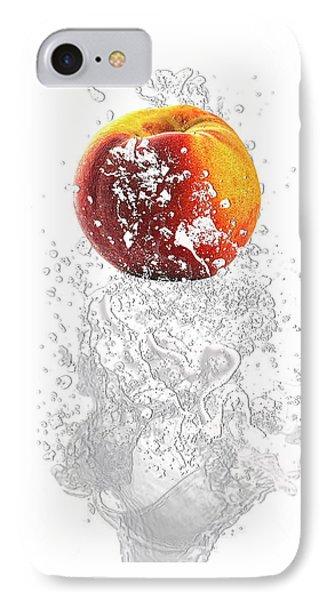 Peach Splash IPhone Case by Marvin Blaine