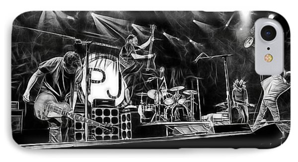 Pearl Jam Collection IPhone Case by Marvin Blaine