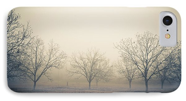 Pecan Trees IPhone Case by Gestalt Imagery