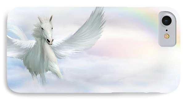 Pegasus IPhone 7 Case by John Edwards