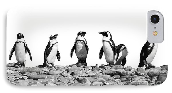 Penguins IPhone 7 Case by Delphimages Photo Creations