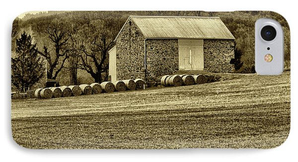 Pennsylvania Barn Phone Case by Bill Cannon
