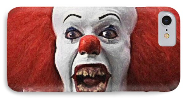 Pennywise The Clown IPhone Case by Taylan Apukovska