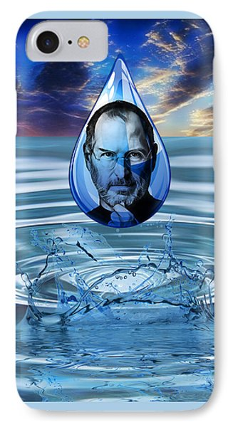 People Changing History Steve Jobs IPhone Case by Marvin Blaine