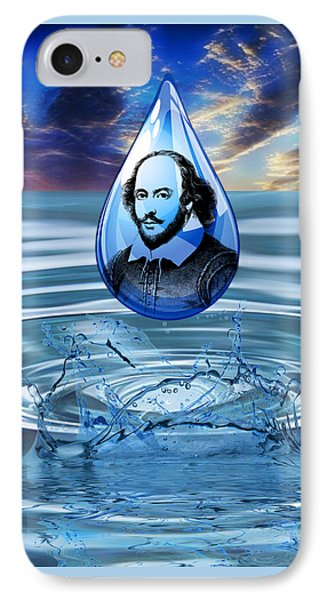 People Changing History William Shakespeare IPhone Case by Marvin Blaine