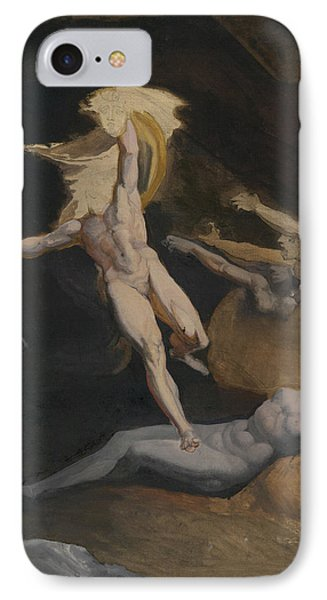 Perseus Slaying The Medusa IPhone 7 Case by Henry Fuseli
