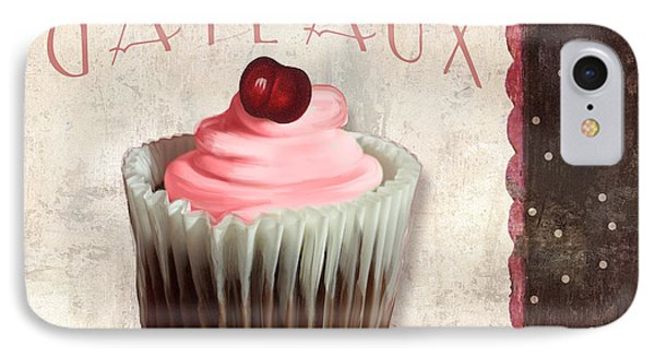 Petits Gateaux Chocolat Patisserie IPhone Case by Mindy Sommers