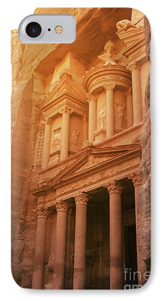 Petra Treasury, Jordan IPhone Case by Jelena Jovanovic