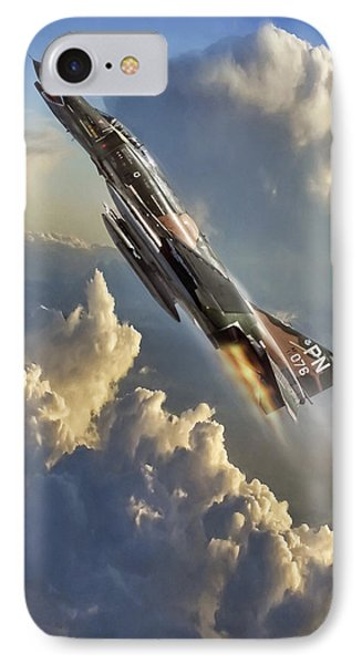 Phantom Cloud Break IPhone Case by Peter Chilelli
