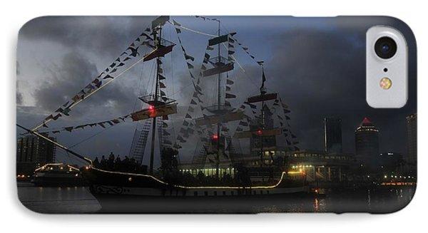 Phantom Ship Phone Case by David Lee Thompson