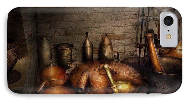 Pharmacy - Alchemist's Kitchen Phone Case by Mike Savad