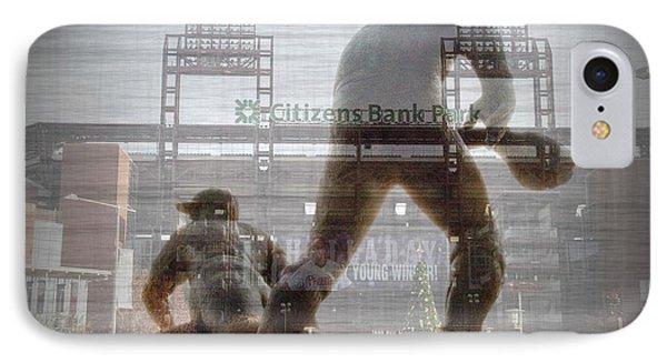Philadelphia Phillies - Citizens Bank Park IPhone Case by Bill Cannon