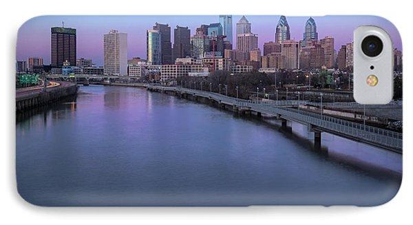 Philadelphia Skyline Pastels IPhone Case by Susan Candelario