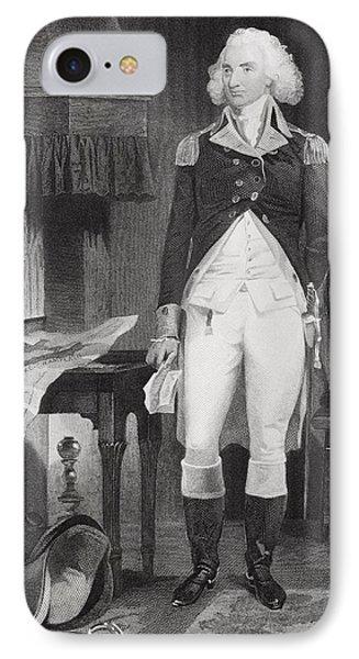 Philip Schuyler 1733-1804. American IPhone Case by Vintage Design Pics