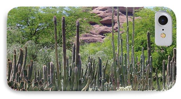 Phoenix Botanical Garden Phone Case by Carol Groenen