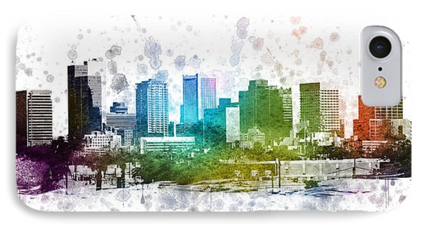 Phoenix Arizona In Color 02 IPhone Case by Aged Pixel