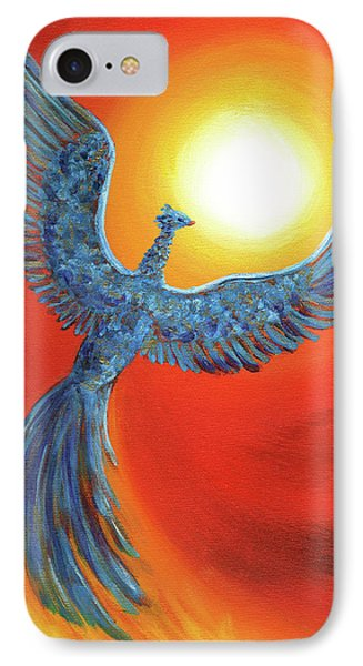 Phoenix Rising IPhone 7 Case by Laura Iverson