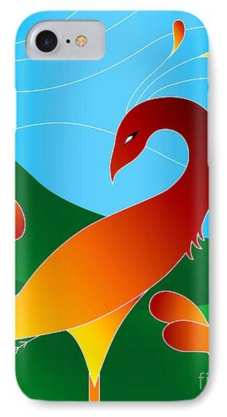 Phoenix  IPhone Case by Robert Ball