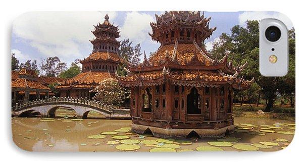 Phra Kaew Pavillion Phone Case by Bill Brennan - Printscapes