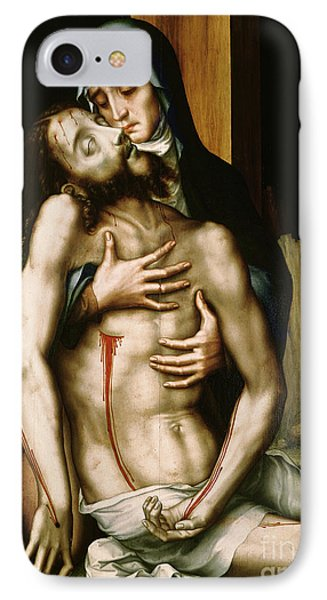 Pieta IPhone Case by Luis de Morales