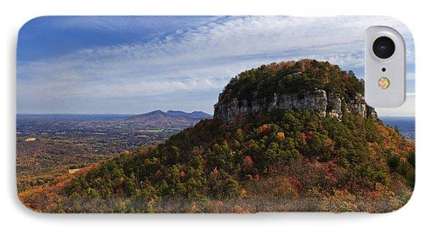 Pilot Mountain IPhone Case by Jill Lang