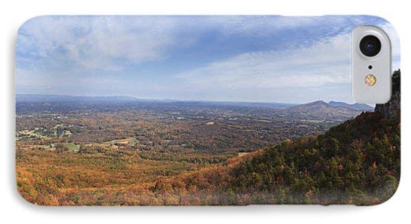 Pilot Mountain Panorama IPhone Case by Jill Lang