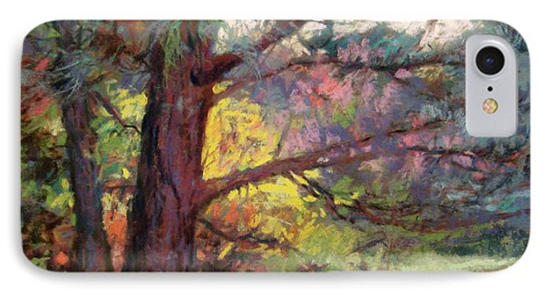 Pine Tree Dance Phone Case by Donna Shortt