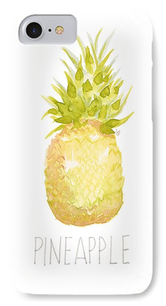 Pineapple IPhone Case by Cindy Garber Iverson
