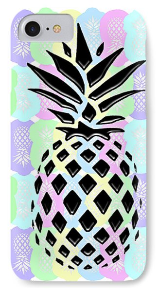 Pineapple Collage IPhone Case by Liesl Marelli