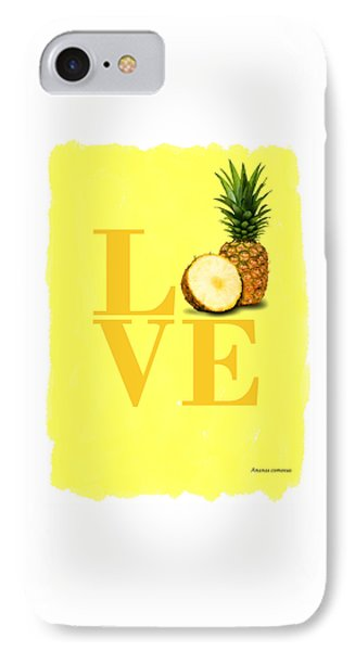 Pineapple IPhone Case by Mark Rogan