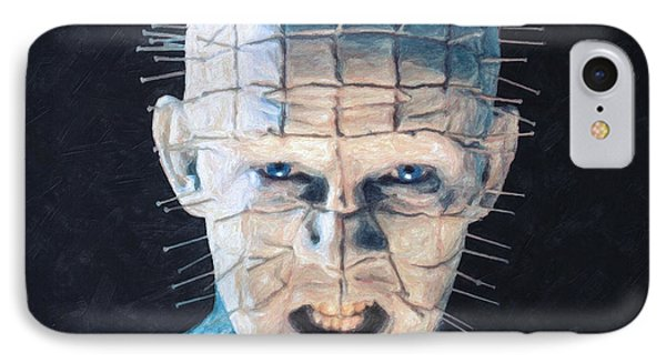 Pinhead IPhone Case by Taylan Soyturk