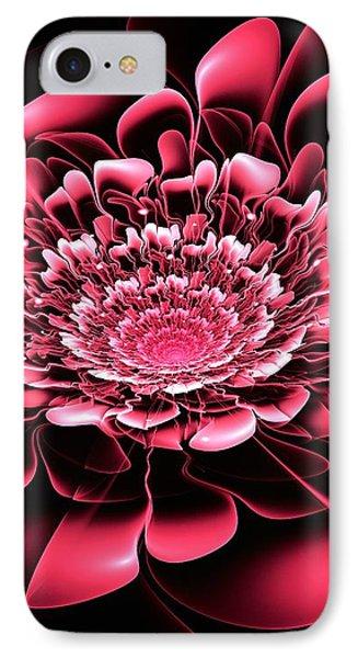 Pink Flower Phone Case by Anastasiya Malakhova