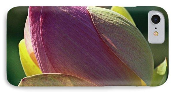 Pink Lotus Bud Phone Case by Heiko Koehrer-Wagner