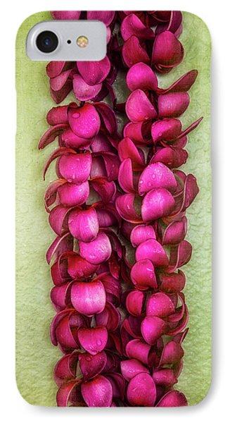 Pink Plumeria Lei Phone Case by Jade Moon