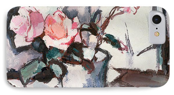 Pink Roses Phone Case by Samuel John Peploe