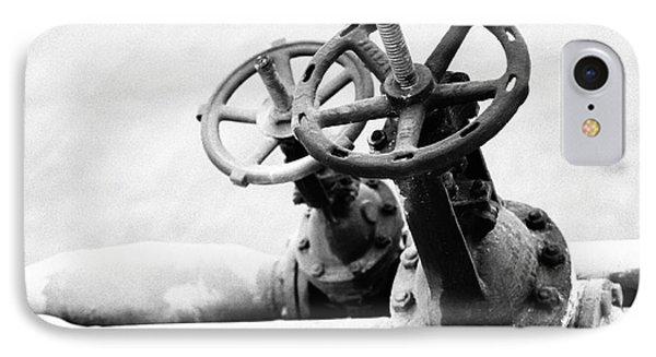 Pipeline Valves IPhone Case by Gaspar Avila