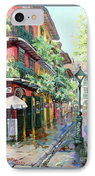 Pirates Alley - French Quarter Alley IPhone Case by Dianne Parks