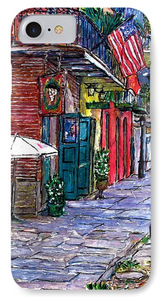 Pirates Alley IPhone Case by John Boles