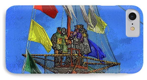 Pirates In The Nest IPhone Case by David Lee Thompson