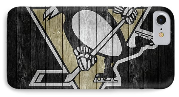 Pittsburgh Penguins Barn Door IPhone Case by Dan Sproul