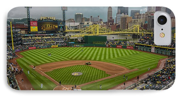 Pittsburgh Pirates Pnc Park 5569 IPhone Case by David Haskett