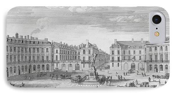Place Des Victoires IPhone Case by Jacques Rigaud